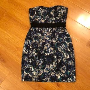 Max and Cleo - watercolor dress w/ pockets size 4